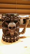 Skulls Coffee Mug Made Out Of Aluminum Great Design And Coolandnbsp