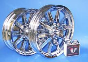 Harley Road King Impeller Chrome Wheels Non Abs Bearings Installed Exchanged