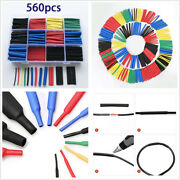 560x Insulation Heat Shrink Tubing 21 Electrical Wire Cable Wrap Assortment Kit
