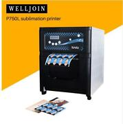 P750l Thermal Sublimation Printer Drum Photo Paper Certificate 7 Inch 600 Sheets