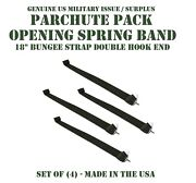 Us Military Airborne T-10 Parachute Deployment Opening Spring Bungee Set Of 4