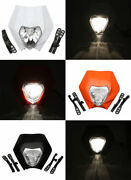 Motorcycle Headlight Front Light For Honda Crf150r 250r 230f 230r 400r Crf150rb