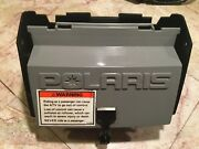 1994 Polaris 400l 4x4 Rear Tool Box Lid Cover And Storage Box Assembly - Gray