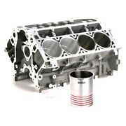 Darton Dry Block Sleeves With Flange For Chevy Gm Ls1 Ls6 Max 3.897 Bore