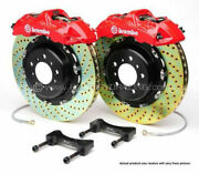 Brembo Gt Bbk 4pot Front For 1997-2003 Bmw 5-series E39 2000-2003 M5 1b1.8010a2