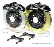 Brembo Gt Bbk 4pot Front For 1997-2003 Bmw 5-series E39 2000-2003 M5 1b2.8010a1