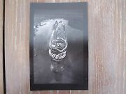 Jan Saudek Coca Cola Bottle Rare Gelatine Silver Print Signed 6and039and039 X 9.5and039and039