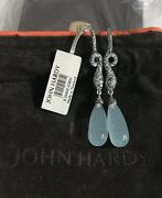John Hardy Legends Cobra Batu Drop Earrings Nwt Retails 5500