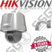 Hikvision Ds-2dt6223-aely Stainless Steel 2mp Cctv Ptz Bracket Hd Camera Poe