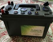 Clancyand039s Powerbox 12 Volt Power Supply Ice Fishing Camping Hunting Kayaking Fast
