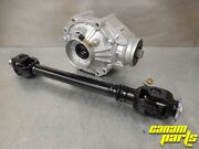 New Canam Outlander Xmr Rear Differential Diff Kit Driveshaft Propshaft 1000 Max