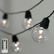 Warm White 26 Ft Long 25 Led String Lights Battery Operated Garland Wedding Sale