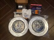 Power Stop K6023 Z23 Evolution Ceramic Kit Drilled/slotted Rotors Rear Only