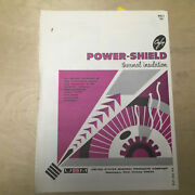 U.s. Mineral Products Co Catalog Asbestos Cafco Power-shield Insulation 1968
