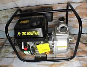 Gmc Industrial Tool Commercial Water Pump W Ohv 196cc Gasoline Powered Engine