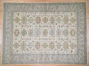 8and03910x11and03910 Pure Wool Handknotted Oriental Village Rug G44616