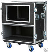 Ata Case For Fender Bassman 300 Pro Amp Head With 12 Space Shock Rack 3/8 Ply