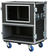 Ata Case For Marshall Jvm 410h Head/ 10 Space Rack New 3/8