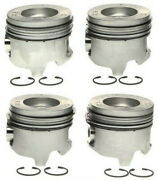 2001-2005 6.6l Lb7 Lly Duramax Left Side Pistons And Rings .040 Oversize 2365
