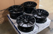 20 Vs Forged 20x9 20x10.5 Vs01 Black Wheels Ford Mustang S197 S550