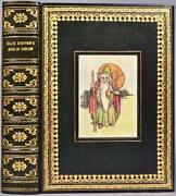 C.1930 Heath Robinsonand039s Book Of Goblin Color Plates Bound By Cottage Bindery