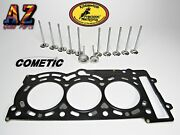 Can Am Maverick X3 Turbo Kibblewhite Intake And Exhaust Valves Cometic Head Gasket