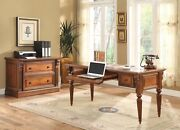 Parker House Huntington Writing Desk And Lateral File
