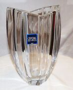 Crystal De Sevres French Original Pitcher/vase Beautiful, Flawless Glass
