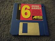 6 More Games Amiga Action Magazine Cover Disk 2
