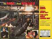 James Bond Spy Who Loved Me Subway Movie Poster A Roger Moore Barbara Bach Nm