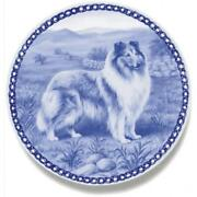 Collie - Rough Sable/white - Dog Plate Made In Denmark From The Finest European