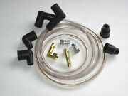 Clear Ignition Wire Set For Twin Cut At 28 Copper Core Spark Plug Wires Triumph