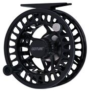 Goture Fly Fishing Reel 5/6 7/8 Wt Cnc Machined Large Arbor Fly Reel Trout Bass