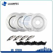 Front Rear Ceramic Pads And Rotors Brake For Ford Expedition Lincoln Navigator