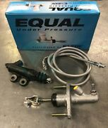 Exedy Master And Slave Cylinder And Stainles Clutch Line Kit For 94-01 Acura Integra