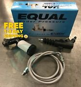Exedy Master And Slave Cylinder And Stainless Clutch Line Kit For 90-97 Mazda Miata