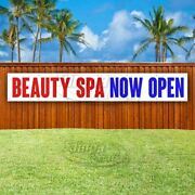 Beauty Spa Now Open Advertising Vinyl Banner Flag Sign Large Huge Xxl Size