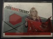 Big Bang Theory Seasons 3 And 4 Trading Cards Costume Card Bernadetteand039s Scarf M-13