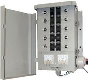 Connecticut Electric Manual Transfer Switch Kit 30 Amp 8 Space 10 Circuits G2