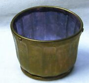 Early 1900s Glass Churn Bowl For Ladd Mixer Churn No. 1