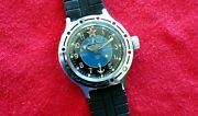 Bostok Submariner Soviet Cccp Ussr Cold War Booty Military Elapsed Time Watch