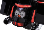 Ciro Taillight And License Plate Mounts - Black 40054