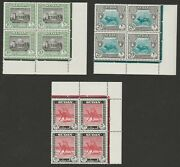 Sudan 1951-61 George Vi Complete Set In Blocks With And039aand039 Noand039s Sg 123-139 Mnh.