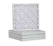 6 Pack - Pleated Air Filters Heavy Duty Hvac Furnace Filter Merv 10 New