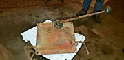 Massey Harris 101jr Tractor Transmission Shift Lever Cover Assembly Mh