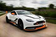 Aston Martin Gt12 Special Order Indoor Car Cover - Grey With Orange Piping