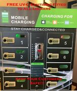 Coin Operated Mobile Phone Charging Locker/sanitising Station - Flash Sale