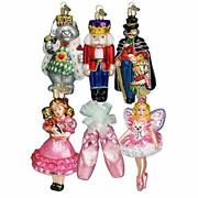 Old World Christmas Ornaments Nutcracker Suite Collection Glass Blown Ornament