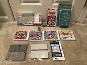 Japanese Nintendo 3ds Games Bundle With Console And Faceplates