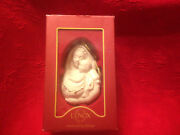 Lenox American By Design Madonna And Child Christmas Ornament Baby Jesus Euc